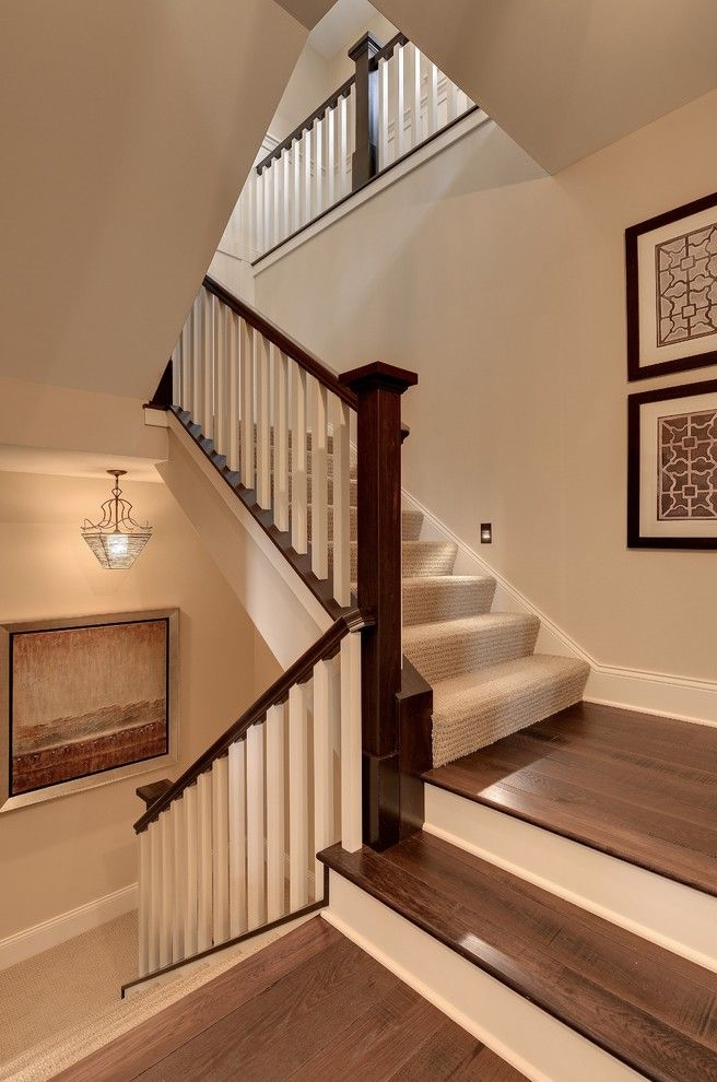 Carpet Padding For Sale With Traditional Staircase Also Beige   Stair Carpets For Sale   Wool   Flooring   Skid   Anderson Tuftex   Mallorca