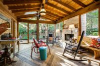 Dr Horton Dallas with Rustic Porch Also Bench Seating ...