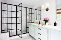 Black Trim Bathroom - Bathroom Design Ideas