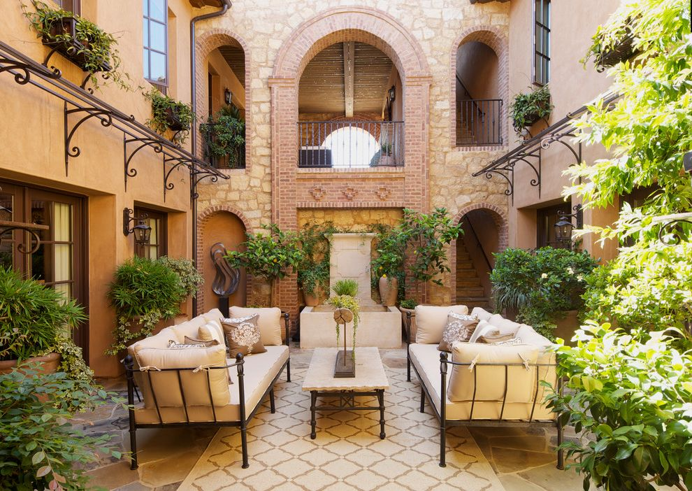 sofa cleaning los angeles armchair bed australia stubborn in spanish with mediterranean patio and atrium ...
