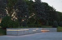 The Light Palace Omaha with Contemporary Landscape and ...