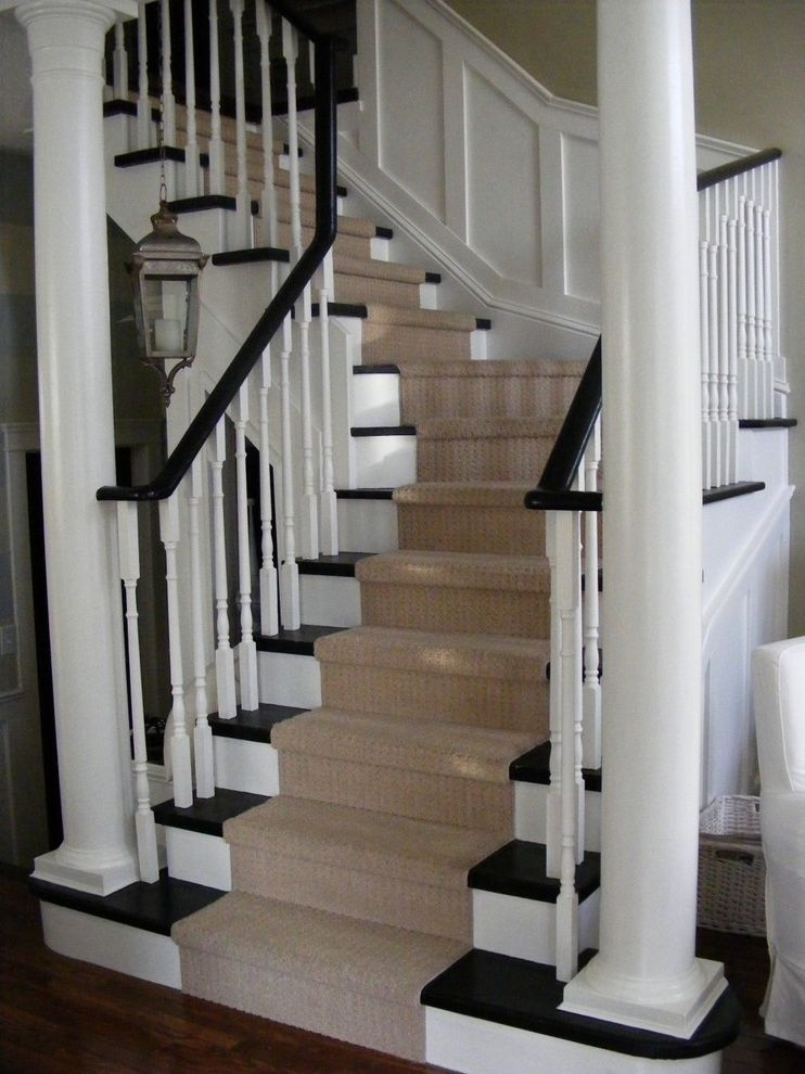 Vinyl Stair Tread Covers Traditional Staircase Also Banister Black   Vinyl And Carpet Stairs   Thin   Indoor   Light   Low Pile   Laminate