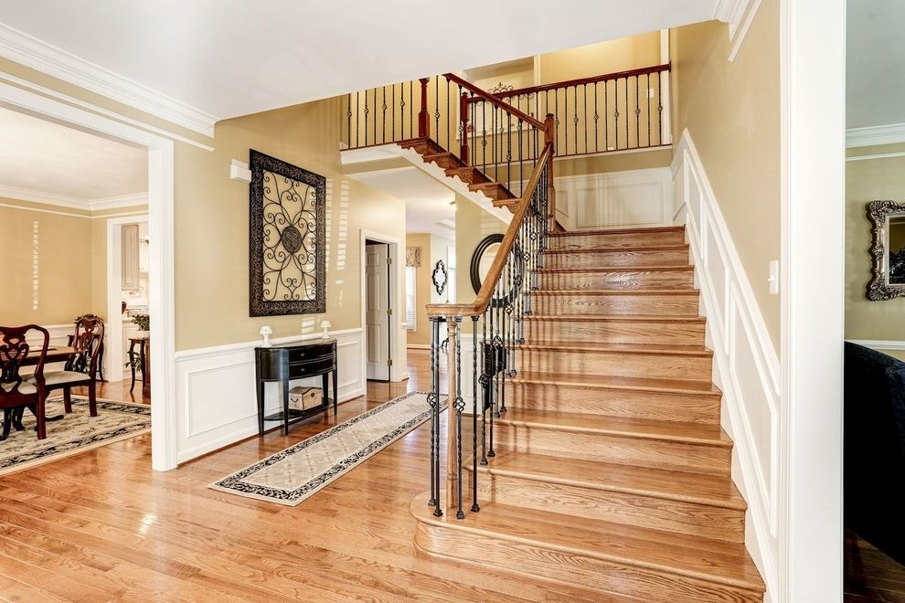 Theaters In Winchester Va With Traditional Staircase And Basement | Kitchen With Stairs To Basement | Next | Mid Century | Living Room | Narrow | Ranch