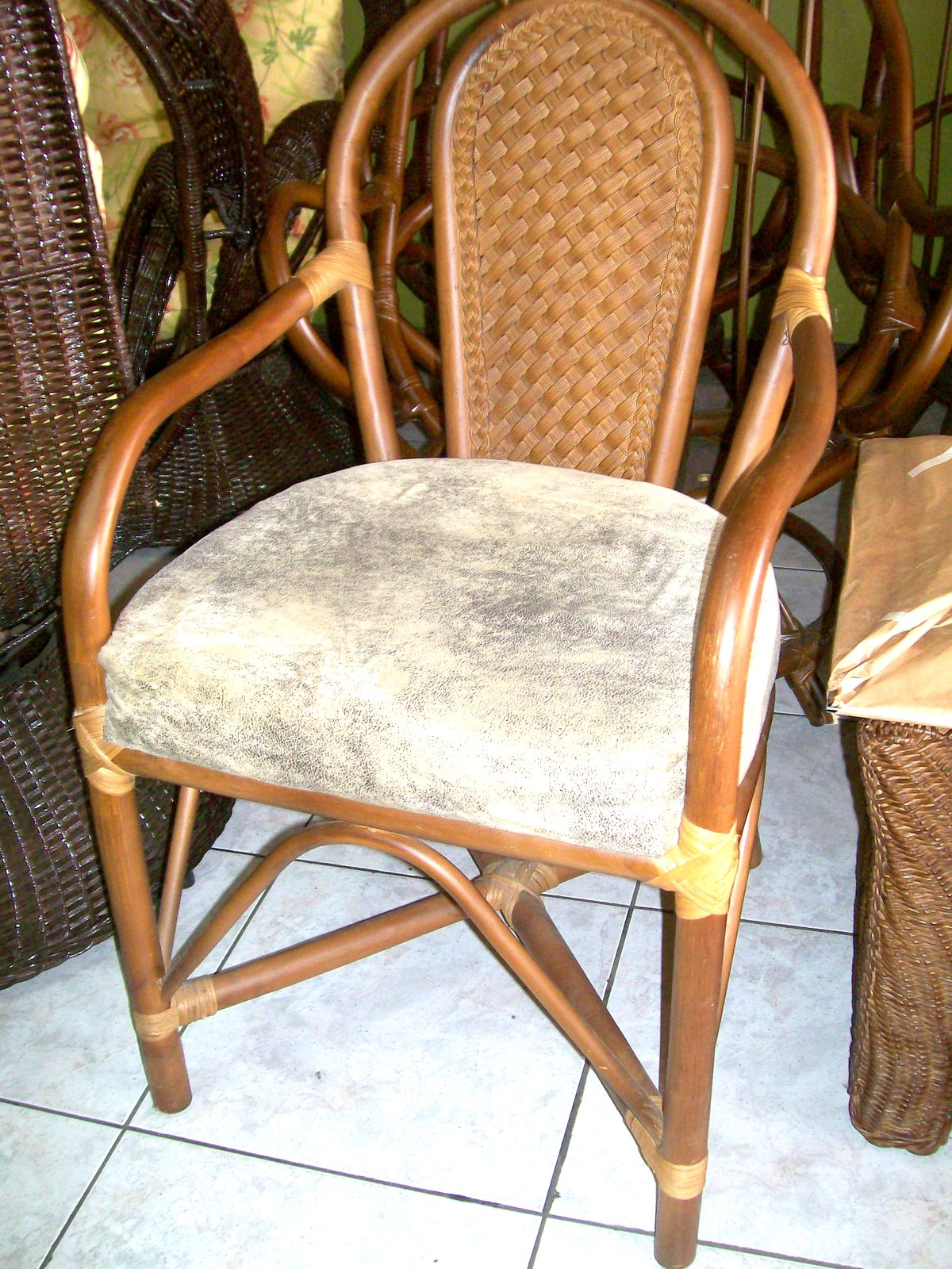 Rattan Wicker and Bamboo  Fine Furniture of Sarch