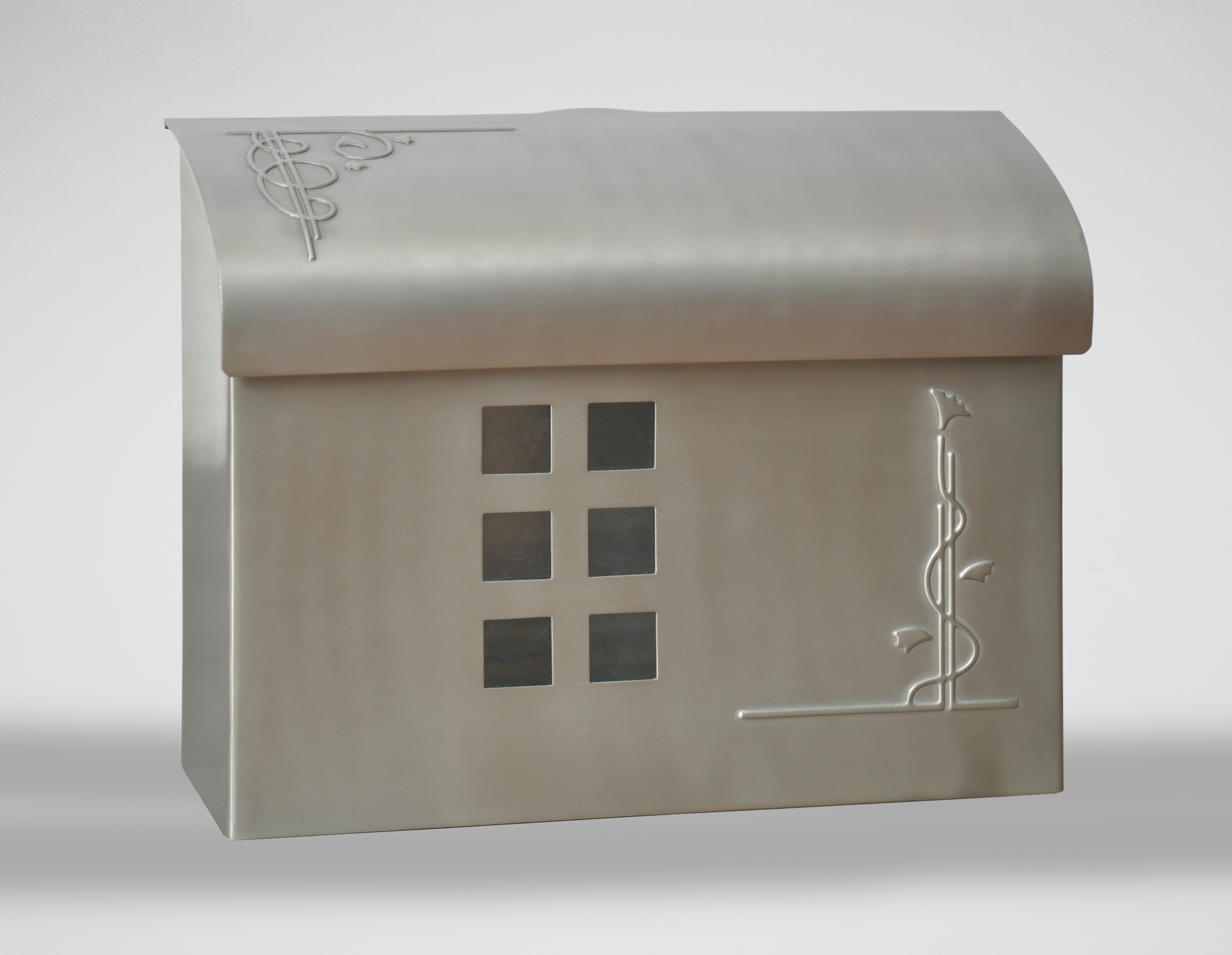 Ecco Fuoriserie E7 Solid Brass Wall Mounted Mailbox
