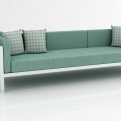 Aqua Sofa Bed Storage Bench And Aluminum Frame Extra Large