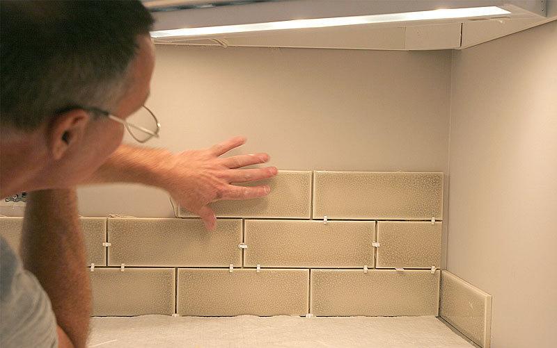 tile backsplash layout fine homebuilding