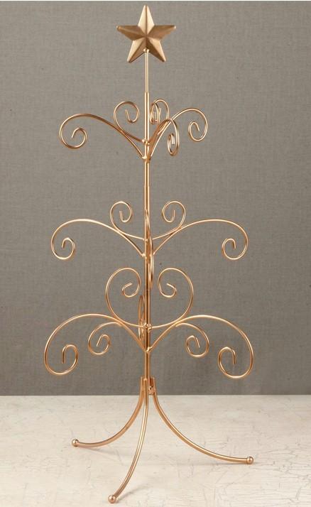 Ornament Trees Regent Display Tree 22 Gold Mini