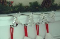 Stocking Hangers, Mantle Hooks, Christmas Stocking Holders