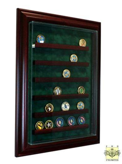 Challenge Coin Display Case  Medium 36 or 56 Coin