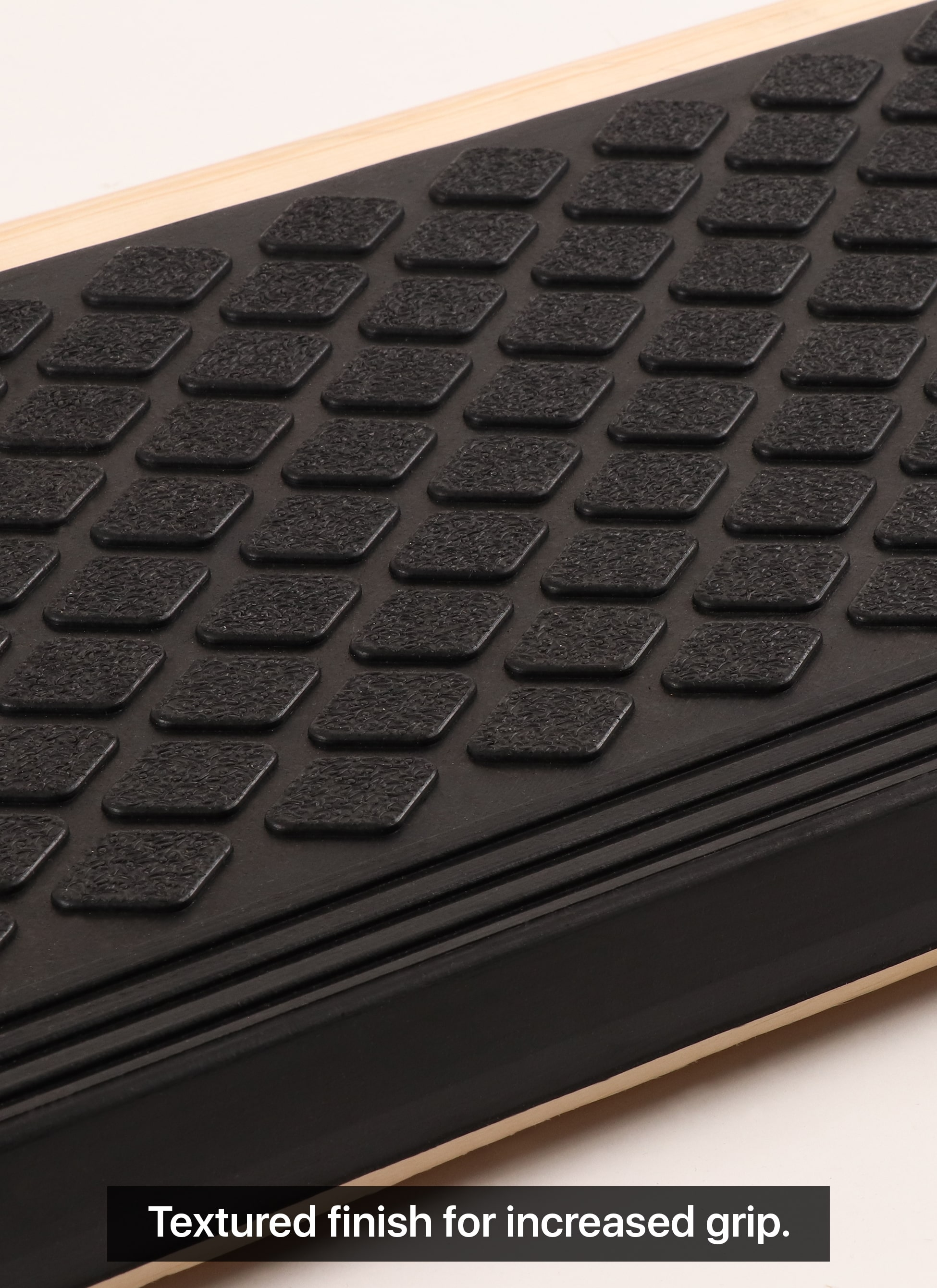 """Rubber Stair Treads Non Slip Outdoor 35""""X10"""" 5 Pack – Anti Slip 