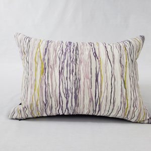 birch stripe abstract cushion