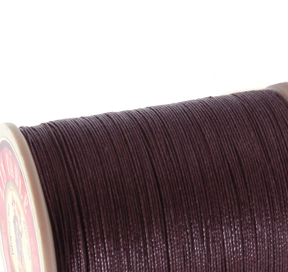 Linen Thread: Dark Brown