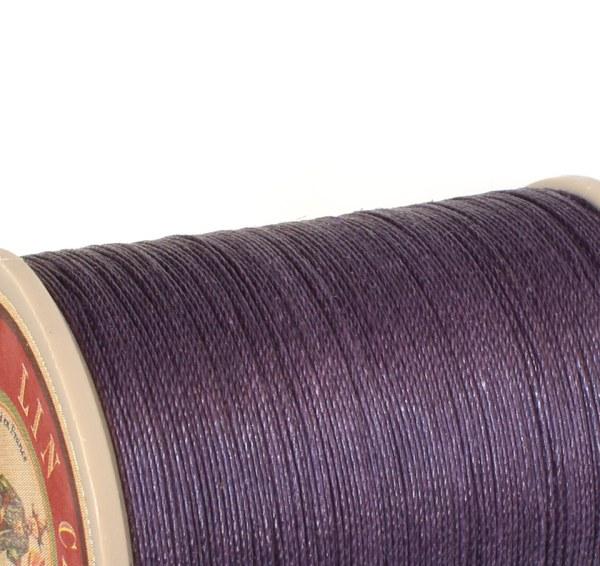 Linen Thread: Eggplant