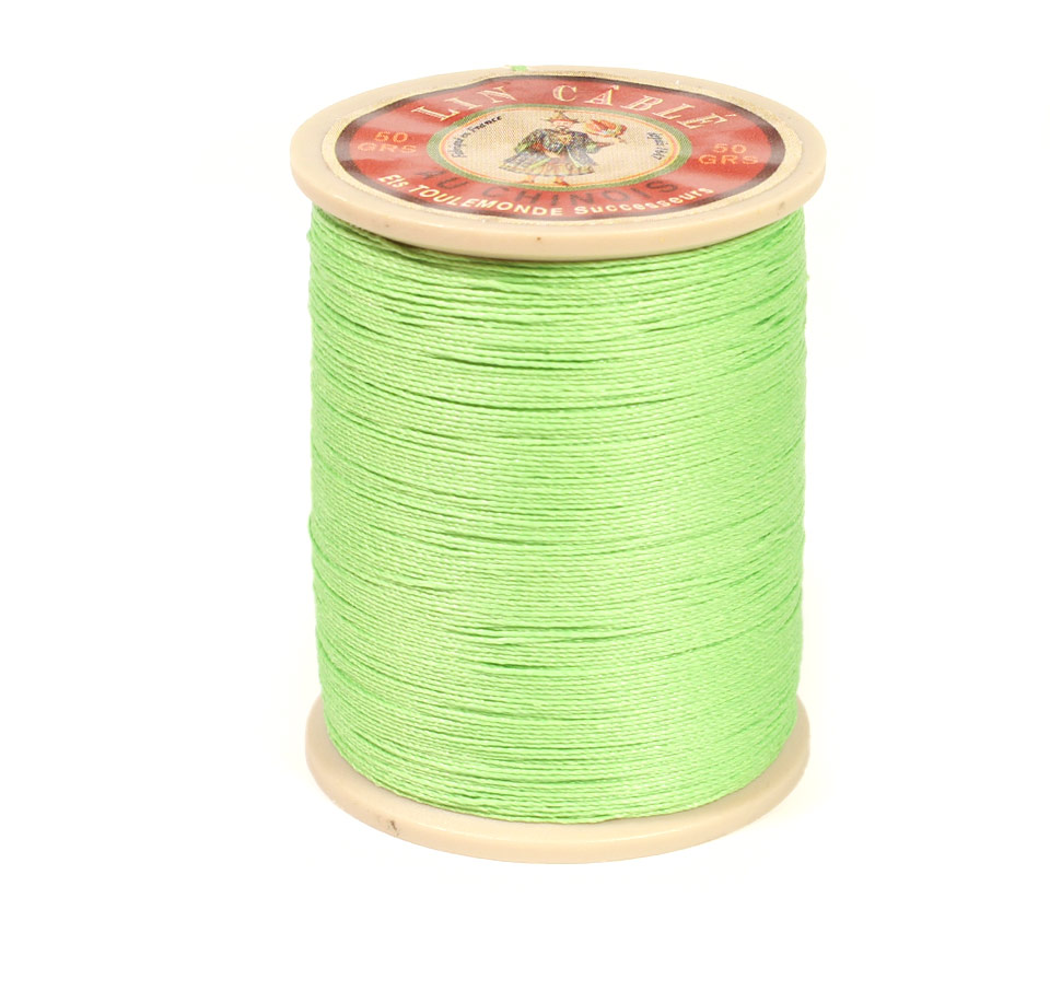 Linen Thread: Light Green