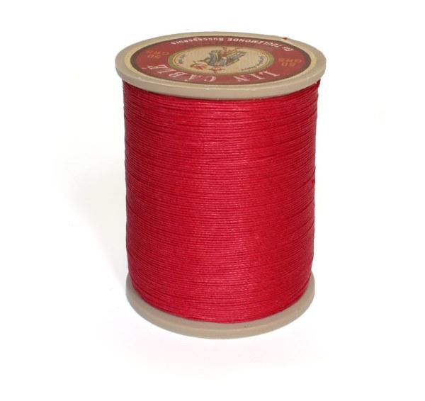 Linen Thread: Red