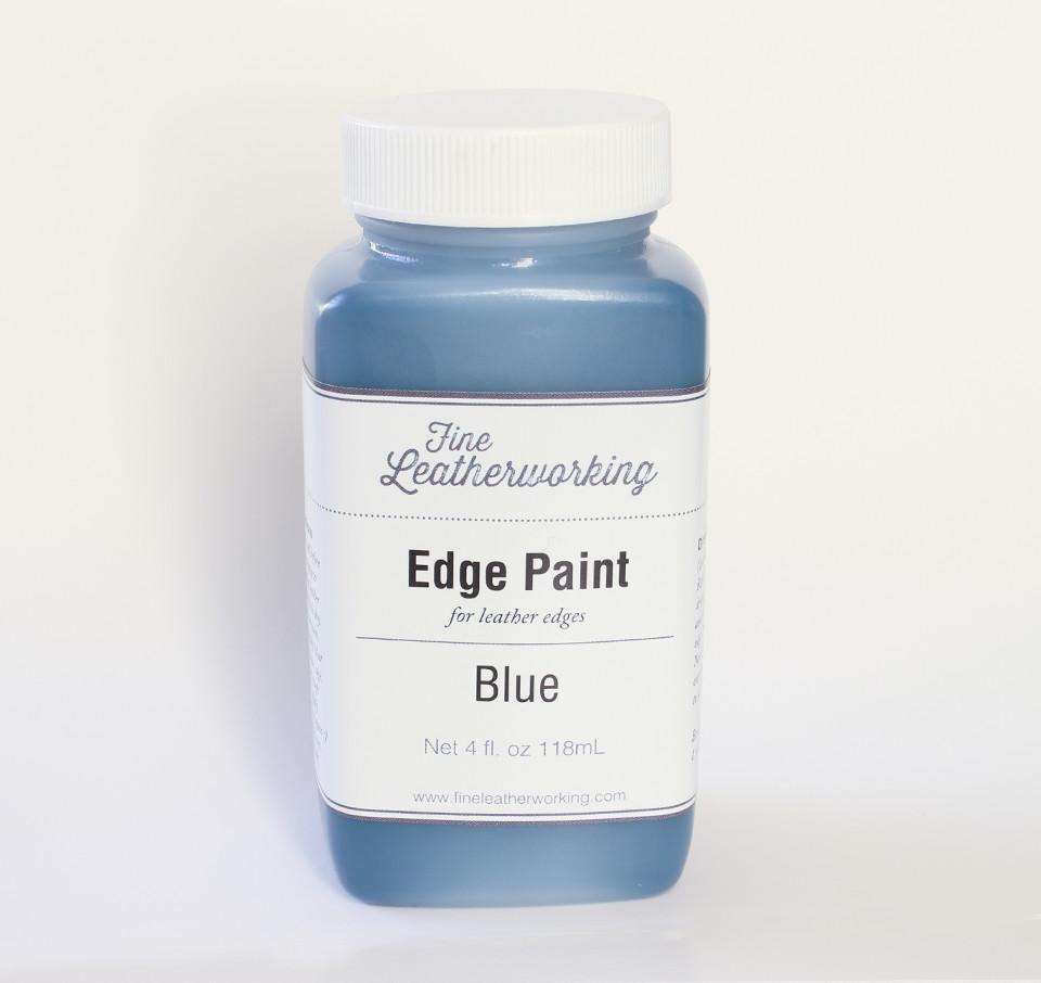 Leather Edge Paint: Blue