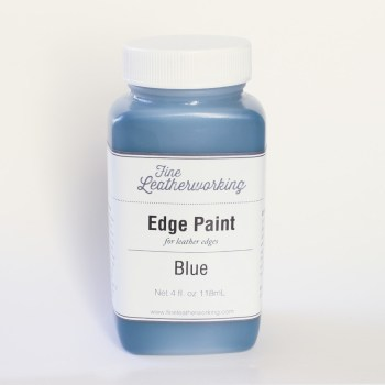 Leather Edge Paint: Blue