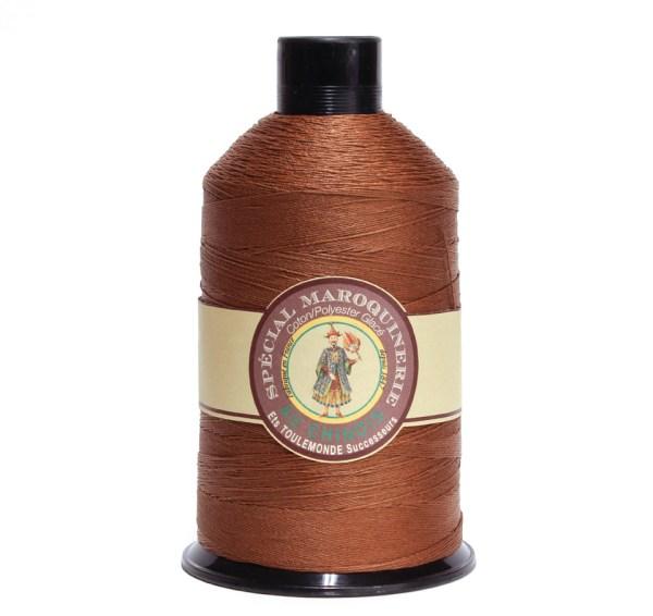 Polycotton Thread: Brown