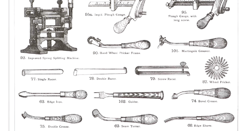 History of Leatherworking Tools