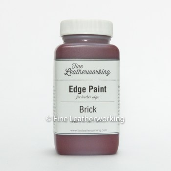 Leather Edge Paint: Brick