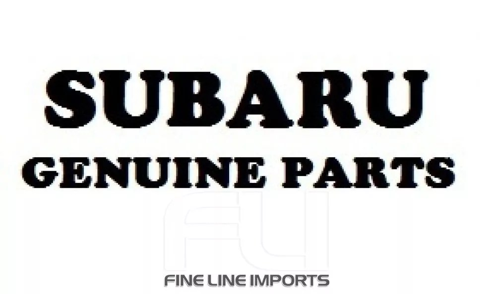 OEM Subaru Parts Subaru WRX STI Turbo MY01/02 Fineline imports