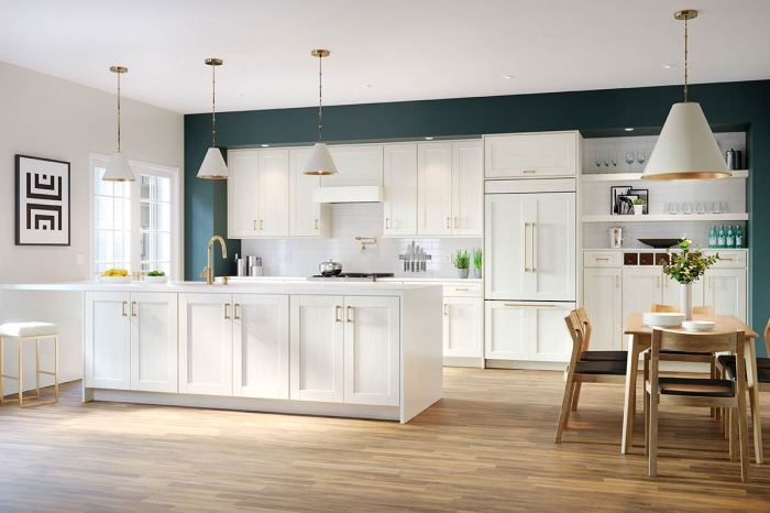 Fine Line Kitchen Designs carries Waypoint Kitchen Duraform_Breeze