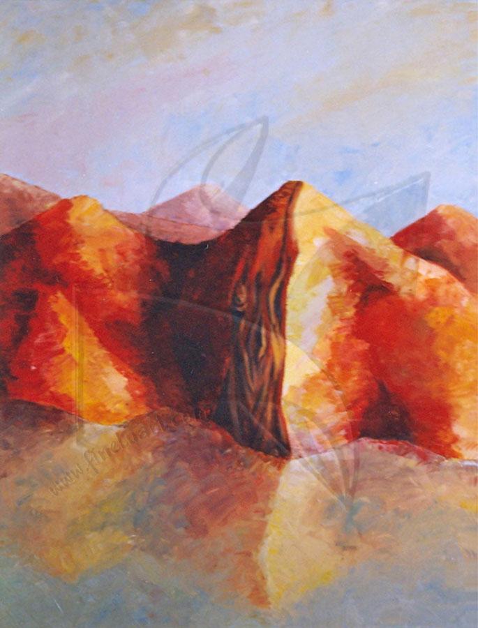 Пейзаж - живопис по поръчка с маслени бои