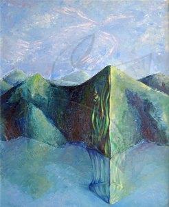 Полет - живопис, картина с маслени бои