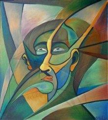 Портрет на мъж - маслена живопис