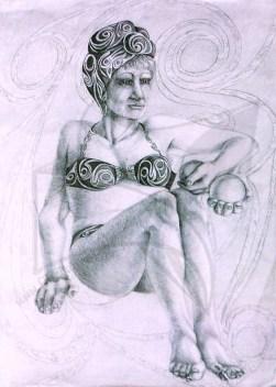 Етюд 1 - рисунка с молив сюрреализъм