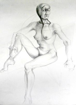 Етюд 2 - рисунка с молив от Любомира Попова Fineluart