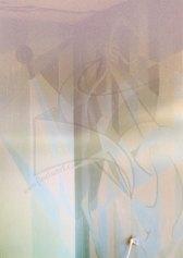 Силуети 3 - декоративна стенопис с латекс върху цялата стена на интериора