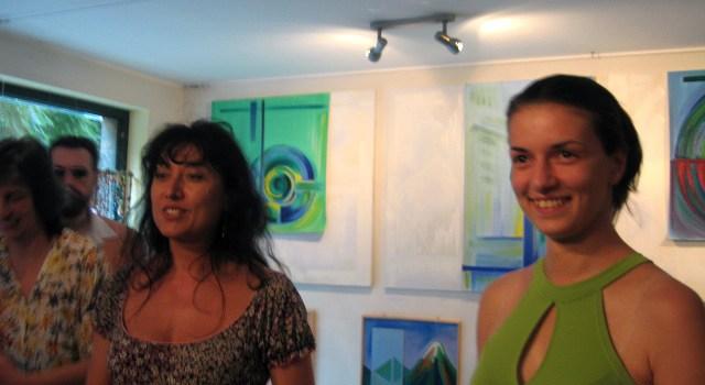 Пластове от монолит – концептуален проект живопис и изложба