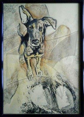 Трета картина арт проект Кучето от южния квартал
