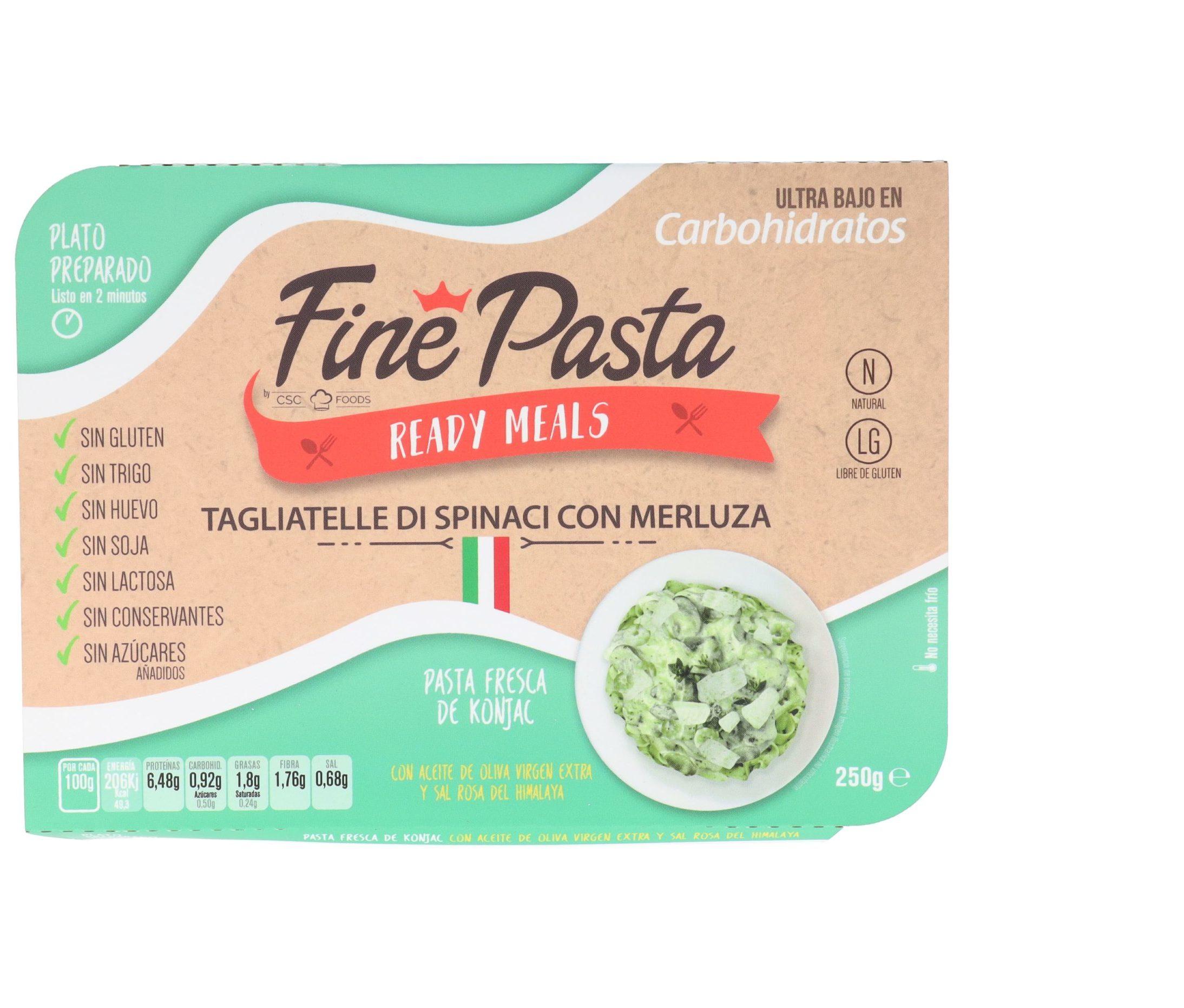 Tagliatelle Di Spinaci Fine Pasta