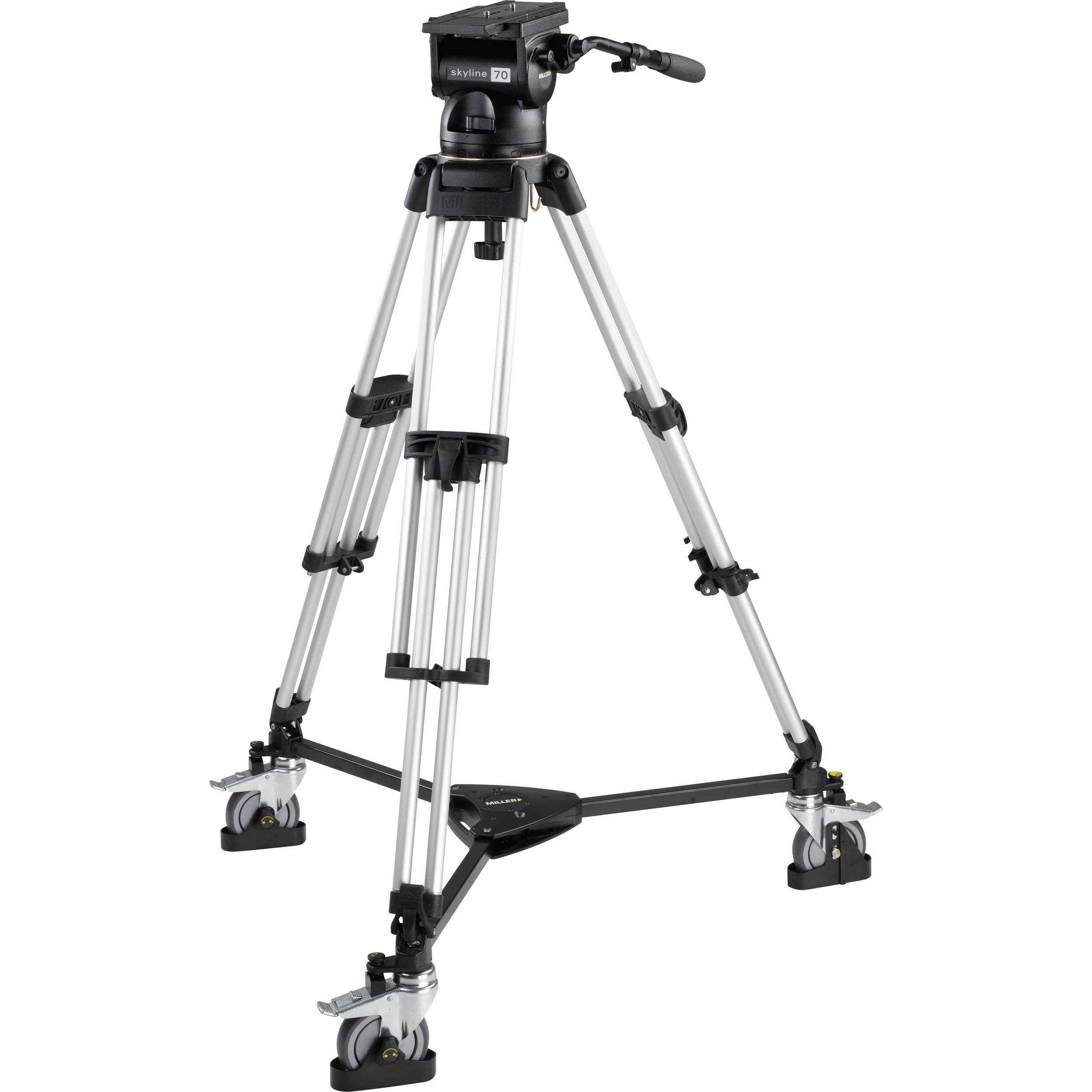 Miller Skyline 70 Hd 1 Stage Alloy And Dolly For Sale