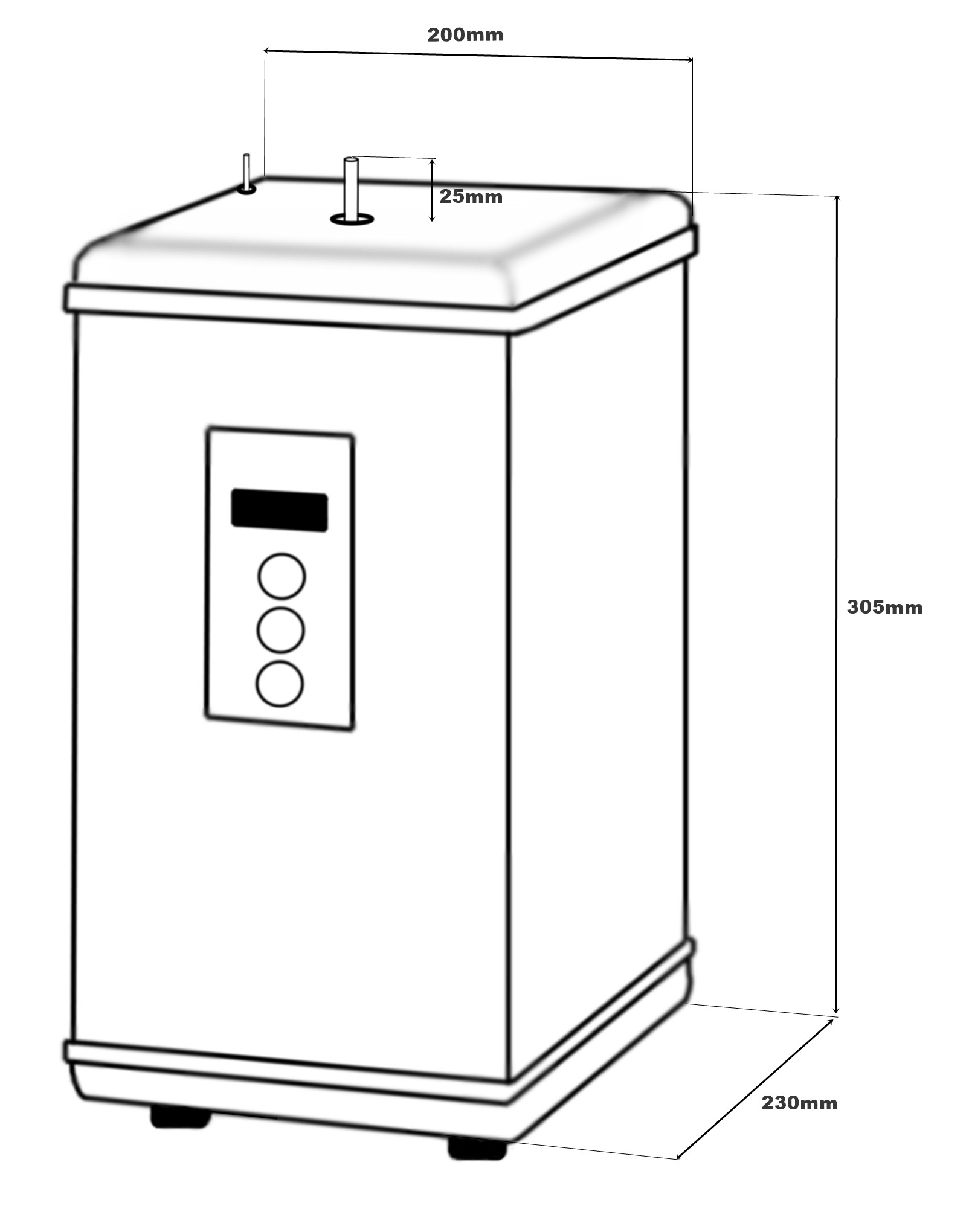Boiling Water Tap By Finerfilters Finerfilters