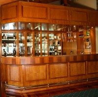 Solid Rosewood Timber Bar in Samford