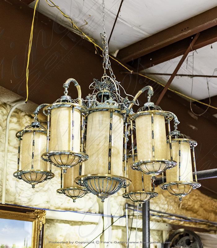 old world onyx chandelier