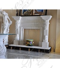 Marble Fireplaces | Fireplace Mantels | Marble Mantels ...