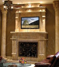 Marble Mantels | Fireplace Mantles | Marble Fireplaces ...