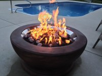 Stainless Steel 18 Inch Gas Fire Pit Ring Kit