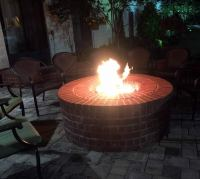 Stainless Steel 36 Inch Gas Fire Pit Ring Kit