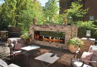Outdoor Fireplaces and Accessories | Fines Gas