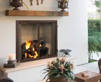 "42"" Castlewood Outdoor Wood Burning Fireplace 