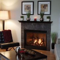 Tahoe Luxury 42 Inch Direct Vent Fireplace | Fine's Gas