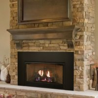 Empire Medium Vent-Free Fireplace Insert | Fine's Gas