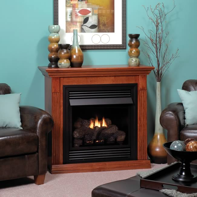 Empire Vail 26 Fireplace System With Mantel Fine S Gas