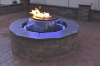 Evolution 360 Gas Fire Pit With Water Feature | Fine's Gas